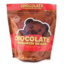 Sweets Gummi Chocolate Cinnamon Bears 14oz Bags
