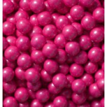 Sixlets Chocolate Shimmer Bright Pink 2 lb Bags