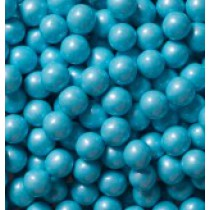 Sixlets Chocolate Shimmer Baby Blue 2 lb Bags