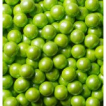 Sixlets Chocolate Shimmer Lime Green 2 lb Bags
