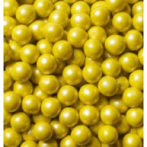 Sixlets Chocolate Shimmer Yellow 2 lb Bags