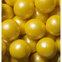 "Gumballs Shimmer Yellow 1"" 2 lb Bag"