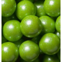 "Gumballs Shimmer Lime Green 1"" 2 lb Bag"