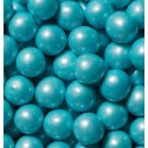 "Gumballs Shimmer Powder Blue .5"" 2 lb Bag"
