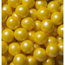 "Gumballs Shimmer Yellow .5"" 2 lb Bag"