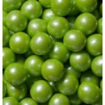 "Gumballs Shimmer Lime Green .5"" 2 lb Bag"