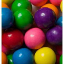 "Gumballs Assorted Mix 1"" 2 lb Bag"