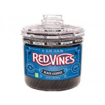 Vines Black Licorice 4 lb Tubs