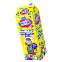Dubble Bubble Assorted Gumballs 20oz Carton