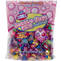 Dubble Bubble Assorted Gum 27oz Bags