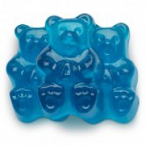 Gummies Bears Beary Blue Raspberry 5 lb Bags
