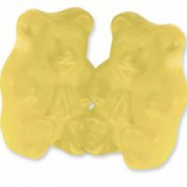Gummies Bears Yellow Banana 5 lb Bags