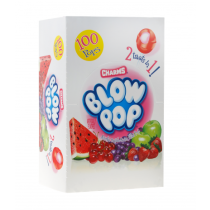 Charms Blow Pops Assorted 100count Box