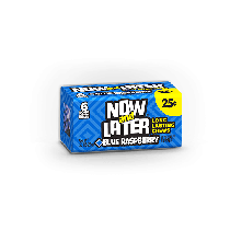 Now & Laters Blue Raspberry 24count Box