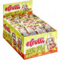 E.Frutti Mini Sour Cola Bottles 80count Box