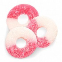 Gummies Rings Watermelon Hot Pink 4.5 lb Bags