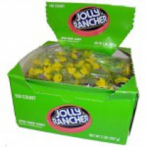 Jolly Ranchers Twist Green Apple 160count Box