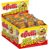 E.Frutti Mini Burger 60Count Box