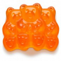 Gummies Bears Orange 5 lb Bags
