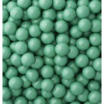 Sixlets Chocolate Shimmer Green Turquoise 2 lb Bags