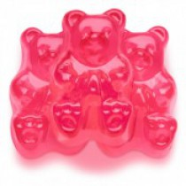 Gummies Bears Hot Pink Watermelon 5 lb Bags