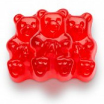 Gummies Bears Red Wild Cherry 5 lb Bags